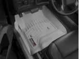 Коврики WEATHERTECH для Cadillac Escalade передние, цвет серый для Crew Cab, Double Cab
