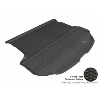 """Коврик багажника """"3D MAXpider"""" для Hyundai Santa-Fe, цвет черный (для 5-ти местного)"""