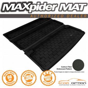 """Коврик багажника """"3D MAXpider"""" дляNissan Patrol Y62, цвет черный (для 2-х рядов сидений)"""