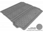 """Коврик багажника """"3D MAXpider"""" для Nissan Pathfinder, цвет черный (для 3-х рядов сидений, можно заказать бежевый и серый), изображение 3"""