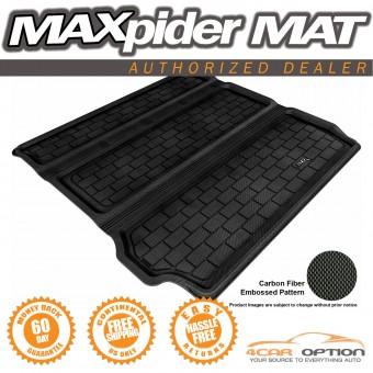 """Коврик багажника """"3D MAXpider"""" для Nissan Pathfinder, цвет черный (для 3-х рядов сидений, можно заказать бежевый и серый)"""