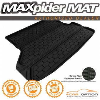 """Коврик багажника """"3D MAXpider"""" для Toyota Highlander, цвет черный (для 2-х рядов сидений, можно заказать бежевый и серый)"""