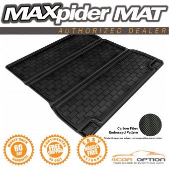 """Коврик багажника """"3D MAXpider"""" для Toyota Sequoia, цвет черный (для 2-х рядов сидений, можно заказать бежевый и серый)"""