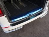 Хромированная накладка для Volkswagen MULTIVAN на задний бампер, полир. нерж. сталь