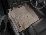 Коврики WEATHERTECH для Chevrolet Tahoe передние, цвет бежевый, для Crew Cab, Double Cab