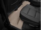 Коврики WEATHERTECH для Chevrolet Tahoe 2-ой ряд, цвет бежевый, подходят для Bench Seating и для Bucket Seating