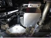 Защита заднего редуктора (алюминий, толщина листа 4 мм), изображение 2