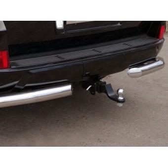 Фаркоп Lexus LX 450d (провода, розетка, декоративная заглушка, чехол для крюка)