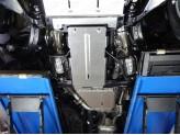 Защита КПП (алюминий) 4 мм, изображение 2