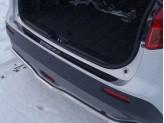 Хромированная накладка для Suzuki Grand Vitara на задний бампер, полир. нерж. сталь
