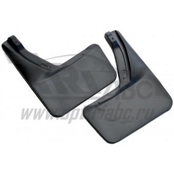 Комплект передних брызговиков (полиуретан),для авто с автоматической подножкой,с заводскими расширителями (для автомобилей продаваемых у официальных Российских дилеров)