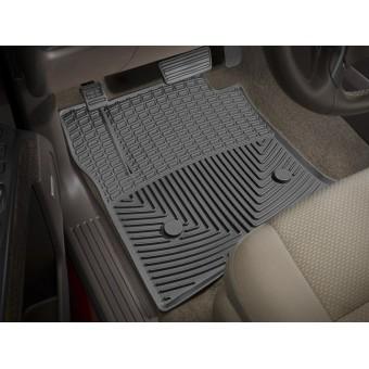 Коврики WEATHERTECH резиновые для Cadillac Escalade ESV , цвет черный (1-ый и 2-ой ряд)