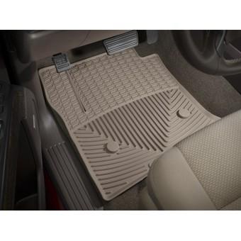 Коврики WEATHERTECH резиновые для Cadillac Escalade, цвет бежевый (1-ый и 2-ой ряд)