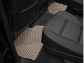 Коврики WEATHERTECH резиновые для Cadillac Escalade, цвет бежевый (1-ый и 2-ой ряд), изображение 2