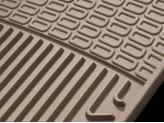 Коврики WEATHERTECH резиновые для Chevrolet Suburban, цвет бежевый (1-ый и 2-ой ряд), изображение 4