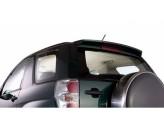 Спойлер заднего стекла (пластик ABS, устанавливается в штатные точки, со сверлением, на болты), изображение 3
