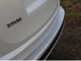 Хромированная накладка для Toyota RAV4 на задний бампер для мод. с 2015 г.