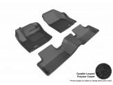 """Коврики """"3D MAXpider"""" для Range Rover Evogue, цвет черный** для мод. с 2014 г."""