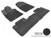 """Коврики """"3D MAXpider"""" для Jeep Grand Cherokee, цвет черный** 2011-2013 г."""
