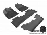 """Коврики """"3D MAXpider"""" для Acura MDX, цвет черный**"""