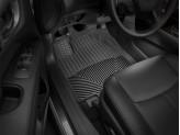 Коврики WEATHERTECH резиновые для Nissan Pathfinder, цвет черный 1-ый и 2-ой ряд