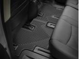 Коврики WEATHERTECH резиновые для Nissan Pathfinder, цвет черный 1-ый и 2-ой ряд, изображение 2
