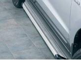 Подножка для Hyundai Santa-Fe из нержавеющей стали