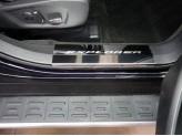 Хромированные накладки для Ford Explorer на пороги из 2-х шт., полир. нер. сталь