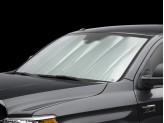 Солнцезащитный экран на лобовое стекло Toyota TUNDRA, цвет серебристый/черный