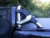 Защитная дуга в кузов пикапа, полир. нерж. сталь + пластик ABS