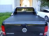 Защитная дуга в кузов пикапа, полир. нерж. сталь + пластик ABS (устанавливается со сверлением на болты), изображение 5