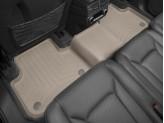 Коврики WEATHERTECH для Audi Q7 задние, цвет бежевый