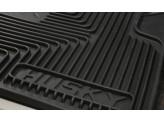 """Комплект задних резиновых ковриков """"Heavy Duty"""", цвет черный, изображение 3"""