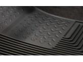 """Коврики Husky liners для Hummer H3 """"Heavy Duty"""" в салон резиновые, передние, цвет серый, изображение 3"""
