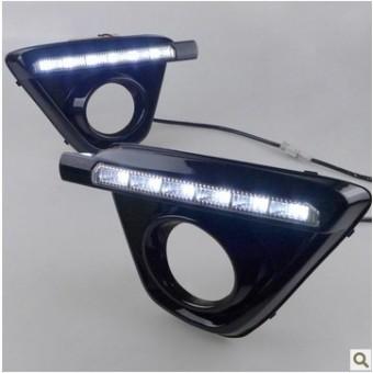 Cветодиодные фонари передние для Mazda CX 5 (цвет черный)