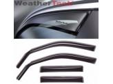 Дефлекторы боковых окон WEATHERTECH для Hyundai Santa-Fe 4 ч.,темные.