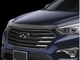 Дефлектор капота WEATHERTECH для Hyundai Santa-Fe, темный