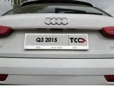 Рамка под номер для Audi Q3 с логотипом