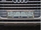 Рамка под номер для Audi Q7 с логотипом