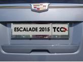 Рамка под номер для Cadillac CTS с логотипом