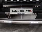 Рамка под номер для Ford Explorer с логотипом
