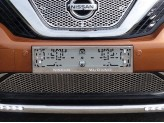 Рамка под номер для Nissan Murano с логотипом