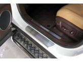Хромированная накладка для Lexus RX на пороги