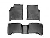 """Коврики WEATHERTECH для Toyota Landcruiser Prado J12, цвет черный, для автомобиля оснащенного системой """"Rear Seat Entertainment System"""""""