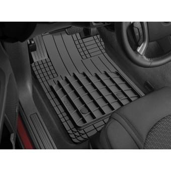 Комплект универсальных ковриков AVM HD для Peugeot Traveller в салон, цвет черный