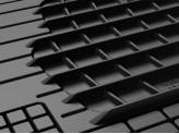 Комплект универсальных ковриков AVM HD для Peugeot Traveller в салон, цвет черный, изображение 3