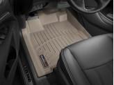 Коврики WEATHERTECH для Nissan Pathfinde передние, цвет бежевый